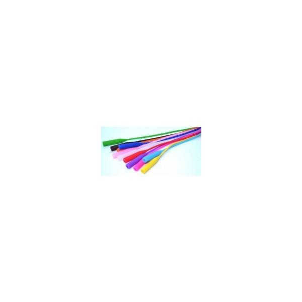 Gumka silikonowa do okularów dla dzieci i młodzieży - czerwona