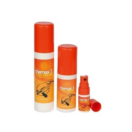 Chemax 3 - 125 ml - płyn do czyszczenia szkieł z antyrefleksem