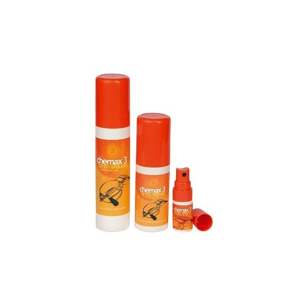 Chemax 3 - 25 ml - płyn do czyszczenia szkieł z antyrefleksem