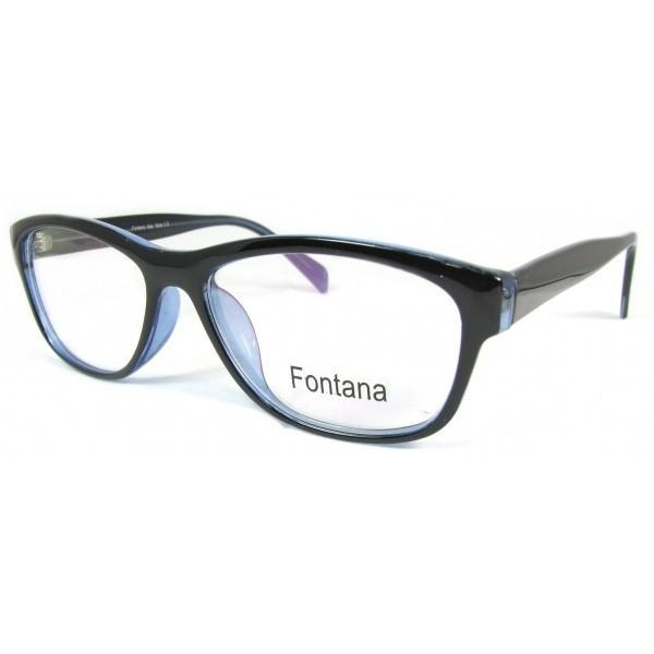 oprawki okulary korekcyjne damskie Fontana f-121 col. 1 niebieski fiolet