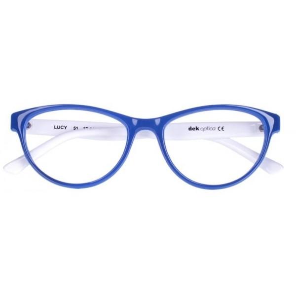 Oprawki korekcyjne Lucy kolor niebieski/biały