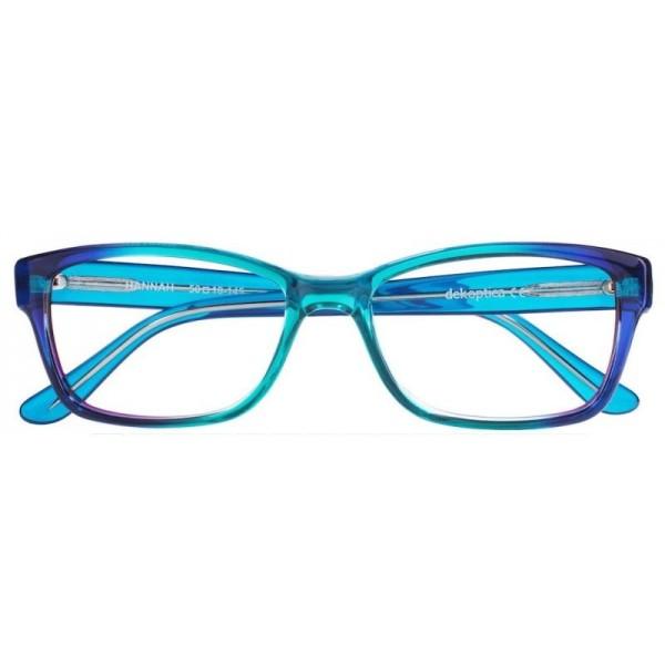 Oprawki korekcyjne Hannah kolor turkus/niebieski