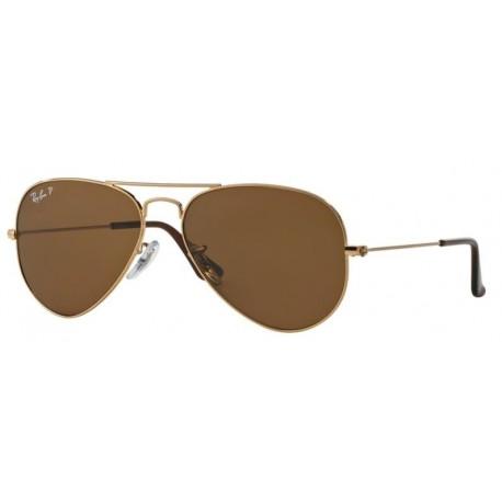 Ray-Ban Aviator rb 3025 col. 001/57 rozm. 55/14 - okulary przeciwsłoneczne z POLARYZACJĄ