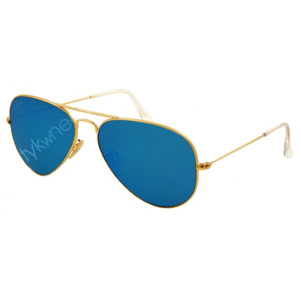 Ray-Ban Aviator rb 3025 col. 112/17 rozm. 55/14 - okulary przeciwsłoneczne lustrzanki