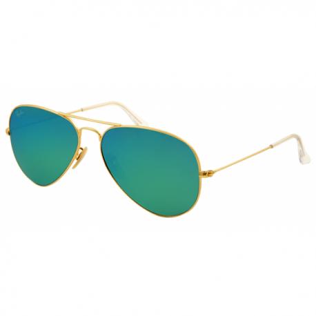 Ray-Ban Aviator rb 3025 col. 112/19 rozm. 58/14 - okulary przeciwsłoneczne lustrzanki