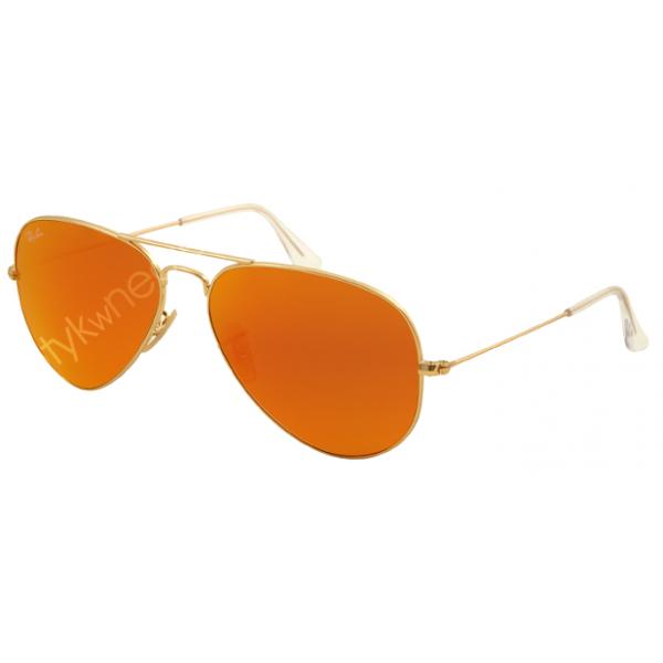 Ray-Ban Aviator rb 3025 col. 112/69 rozm. 55/14 - okulary przeciwsłoneczne lustrzanki