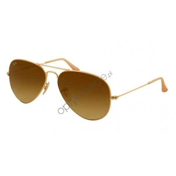 Ray-Ban Aviator rb 3025 col. 112/85 rozm. 58/14 - okulary przeciwsłoneczne
