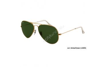 Ray-Ban Aviator rb 3025 col. L0205 rozm. 58/14 - okulary przeciwsłoneczne Arista Crystal