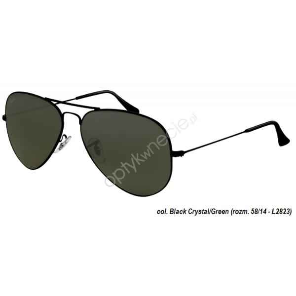 Ray-Ban Aviator rb 3025 col. L2823 rozm. 58/14 - okulary przeciwsłoneczne