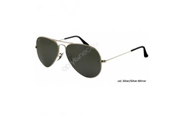 Ray-Ban Aviator rb 3025 col. W3277 rozm. 58/14 - okulary przeciwsłoneczne Silver Mirror