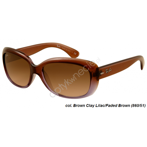 Ray-Ban Jackie OHH rb 4101 col. 860/51 rozmiar 58 - okulary przeciwsłoneczne
