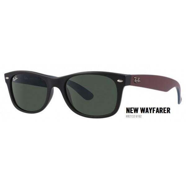 New Wayfarer rb 2132 col. 6182 rozm. 52/18 - okulary przeciwsłoneczne