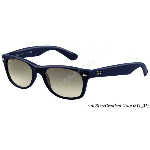 New Wayfarer rb 2132 col. 811/32 rozm. 55/18 - okulary przeciwsłoneczne