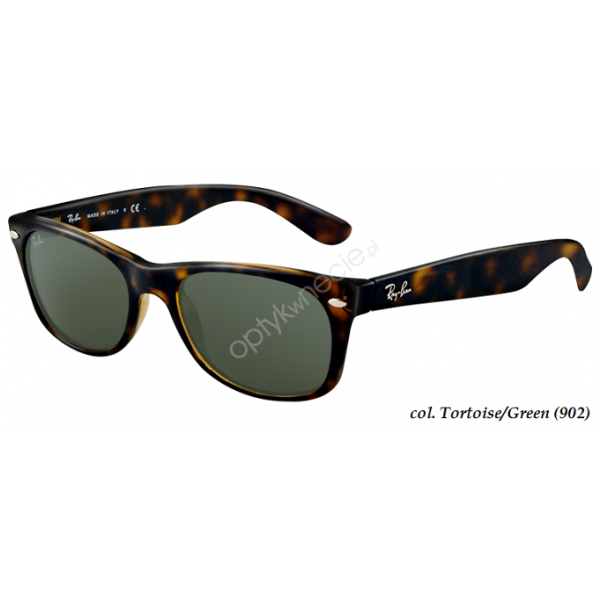 New Wayfarer rb 2132 col. 902 rozm. 52/18 - okulary przeciwsłoneczne