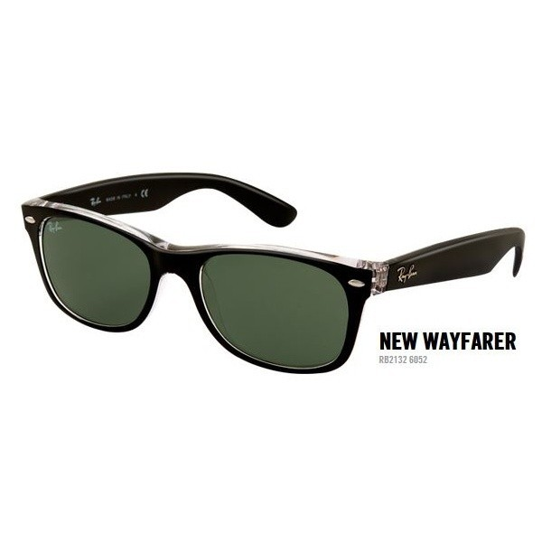 New Wayfarer rb 2132 kol. 6052 rozm. 55/18 - okulary przeciwsłoneczne