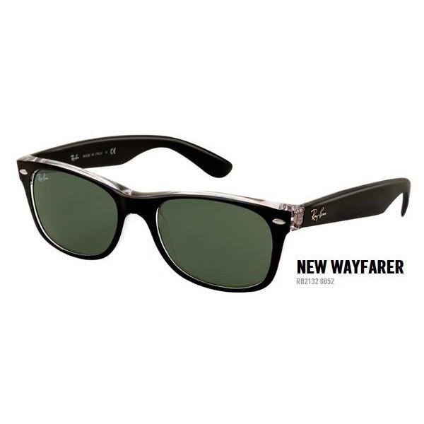 New Wayfarer rb 2132 kol. 6052 rozm. 58/18 - okulary przeciwsłoneczne