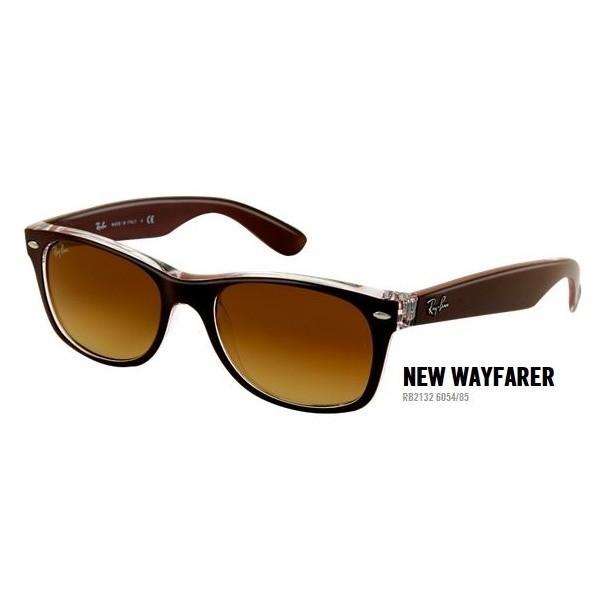 New Wayfarer rb 2132 kol. 6054/85 rozm. 52/18 - okulary przeciwsłoneczne