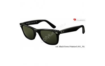 Ray-Ban Original Wayfarer rb 2140 col. 901/58 rozm. 50/22 - okulary przeciwsłoneczne z POLARYZACJĄ