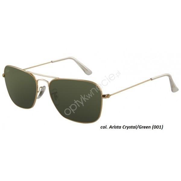 Ray Ban Caravan rb 3136 001 55/15 - okulary przeciwsłonecze