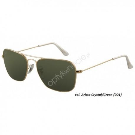Ray Ban Caravan rb 3136 001 58/15 - okulary przeciwsłonecze