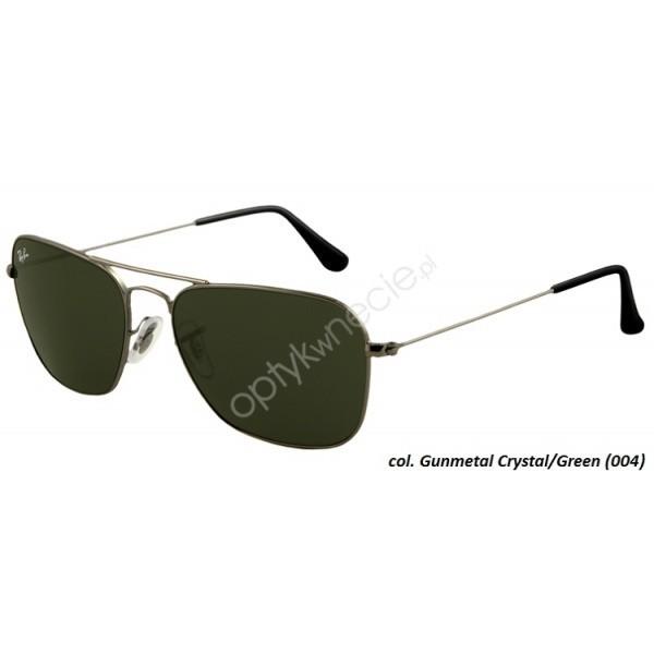 Ray Ban Caravan rb 3136 004 55/15 - okulary przeciwsłonecze