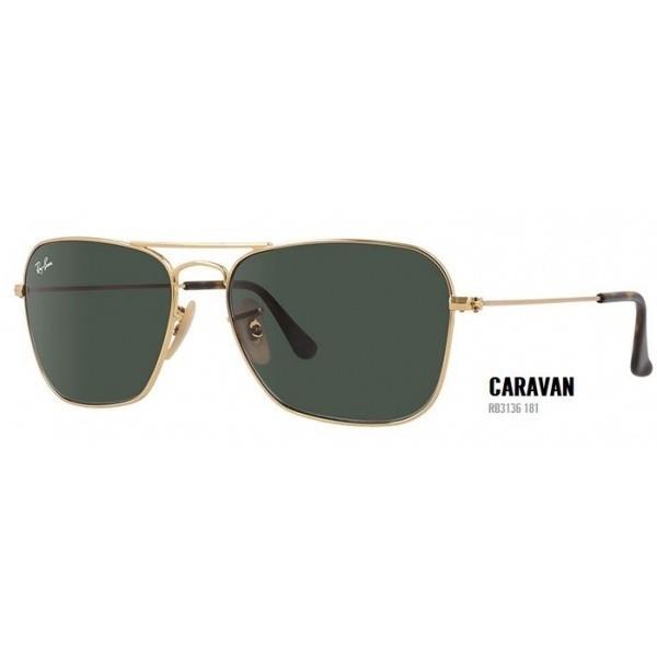 Ray Ban Caravan rb 3136 181 55/15 - okulary przeciwsłonecze