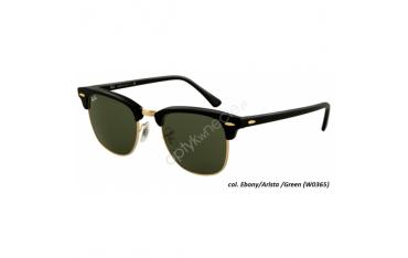 Ray-Ban Clubmaster rb 3016 col. w0365 rozm. 51/21 - okulary przeciwsłoneczne