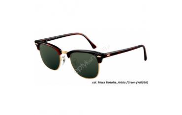 Ray-Ban Clubmaster rb 3016 col. w0366 rozm. 49/21 - okulary przeciwsłoneczne