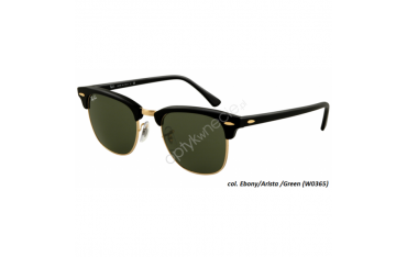 Ray Ban Clubmaster rb 3016 col. w0365 rozm. 49/21 - okulary przeciwsłoneczne