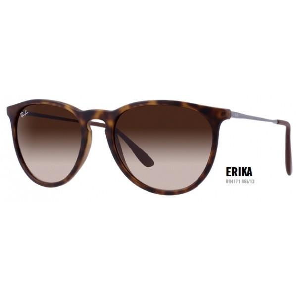 Ray-Ban Erika - rb 4171 col. 865/13 rozm. 54/18 - okulary przeciwsłoneczne