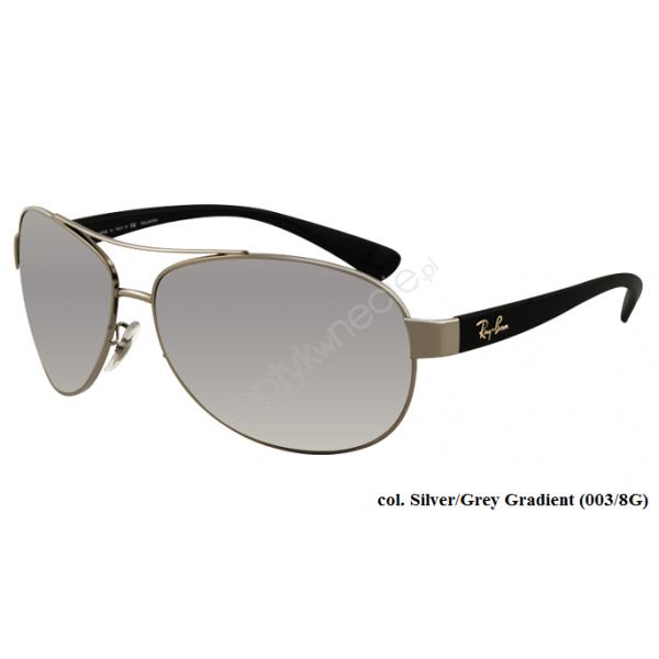 Ray-Ban rb 3386 col. 003/8G rozm.63/13 - okulary przeciwsłoneczne
