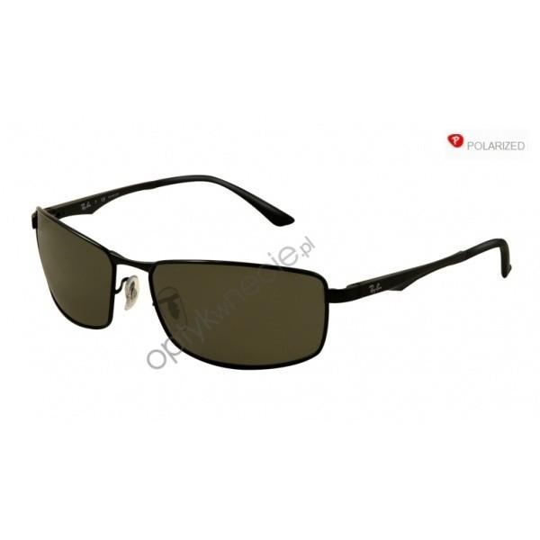 Ray-Ban rb 3498 col. 002/9A  rozm. 64/17 - okulary przeciwsłoneczne z POLARYZACJĄ