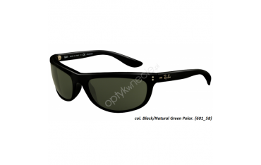 Ray-Ban rb 4089 BALORAMA kol. 601/58 - okulary przeciwsłoneczne z polaryzacją