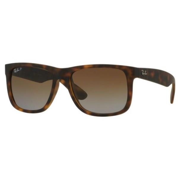 Ray-Ban rb 4165 JUSTIN col. 622/T5 rozm. 55/16 - okulary przeciwsłoneczne z POLARYZACJĄ