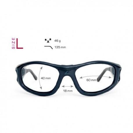okulary sportowe leader dla dorosłych ze szkłami korekcyjnymi
