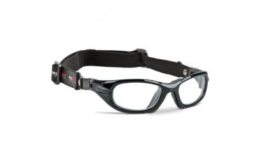 ProGear 2 - okulary sportowe z gumką - czarny metalik, rozmiar L
