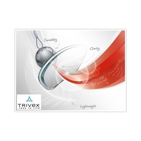 szkła Shamir z materiału Trivex z powłokąGlacier Plus UV