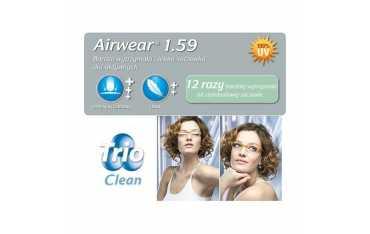 Soczewki poliwęglanowe Airwear 1,59 TRIO Clean