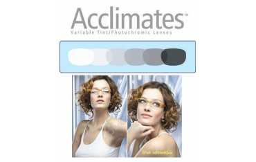 Szkła fotochromowe Acclimates 1,50 Trio z antyrefleksem