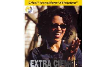 Szkła fotochromowe Transitions XTRActive Ormix 1.6 Crizal Forte UV