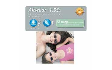 Poliwęglanowe szkła przeciwsłoneczne Airwear 1.59 Sun Crizal Sun UV