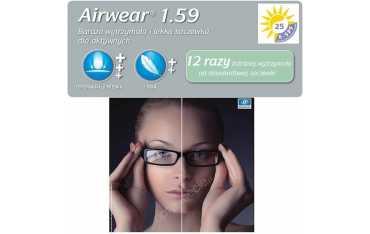 Airwear 1,59 Crizal Easy UV - poliwęglanowe soczewki korekcyjne