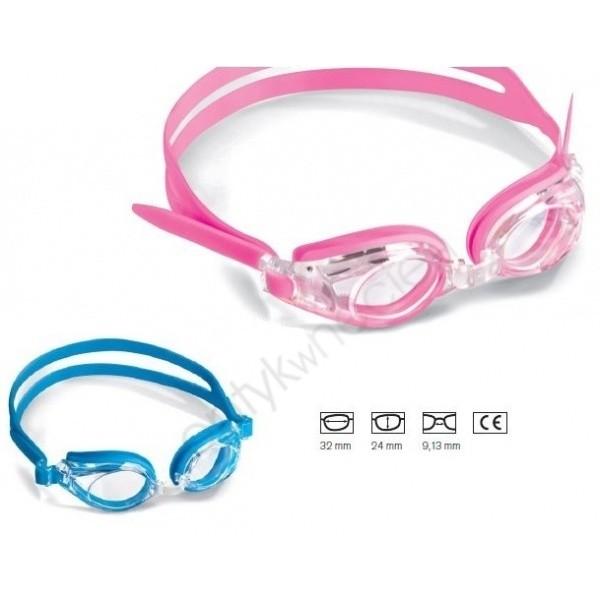 okulary do pływania z korekcją dla dzieci shoptic