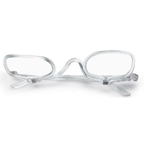 Okulary do makijażu z dwiema soczewkami