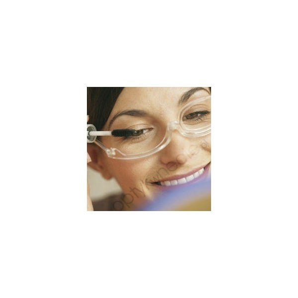Okulary do makijażu z 1 szkłem