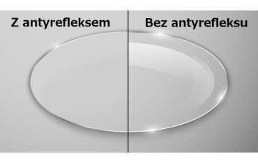 Szkła okularowe plastikowe - Lekkie i Bezpieczne z antyrefleksem