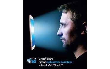 Izoplast 150 Ideal Max Blue UV - soczewki korekcyjne z antyrefleksem