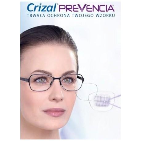 Ormix Crizal Forte UV cienkie szkła z antyrefleksem
