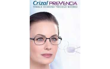 Ormix 1,6 Crizal Prevencia UV - cienkie szkła z filtrem Blue