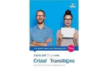 Eyezen Orma EPS 1.5 Transitions Gen8 Crizal Sapphire/Prevencia